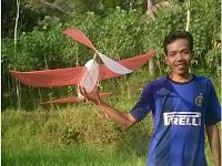 Kreasi Baruku : Layang Layang Sendaren Pesawat 3D