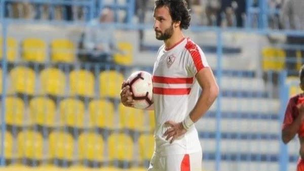الأهلي السعودي يتفاوض لضم محمود علاء لاعب الزمالك والمنتخب