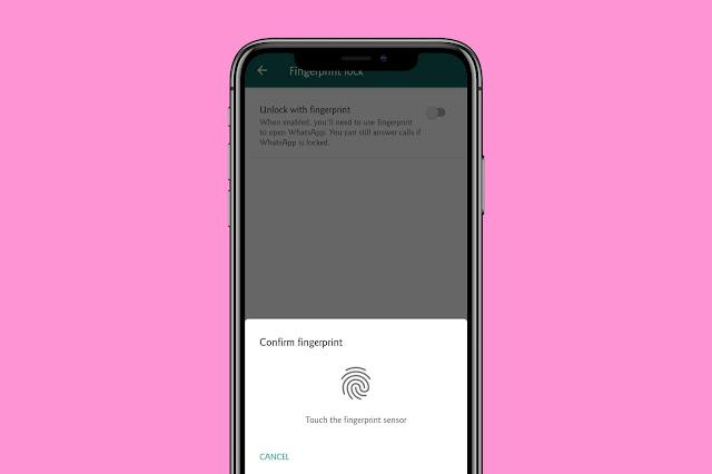 Enable Lock-On WhatsApp