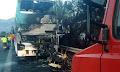 Αυτό είναι το λεωφορείο που μετέφερε μαθητές και κάηκε στην Πάτρα (φωτο)