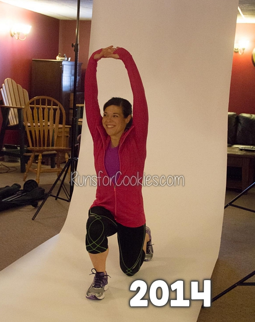 Me in 2014, during Runner's World photo shoot