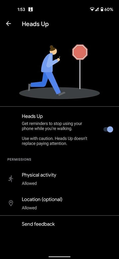Google wants you not to focus on phones while walking on roads
