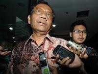 Mahfud MD Tolak Jadi Saksi Ahli Dalam Kasus Rizieq Shihab