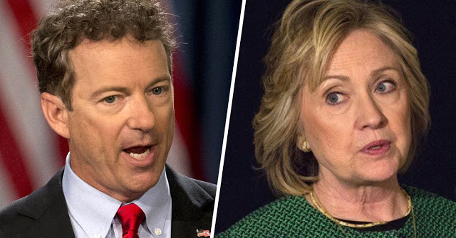 Rand Paul Says Hillary Should Get 5 Years In Prison. Do You Agree?
