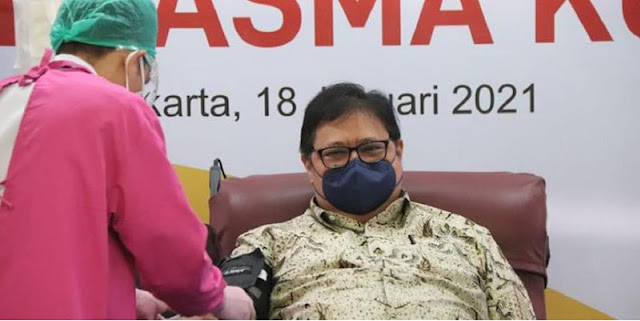 Iwan Sumule: Rakyat Diminta Jujur Sementara Airlangga Tidak Jujur Soal Tes Corona