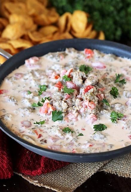 Recipes to Make with Sausage - Sausage Dip Image