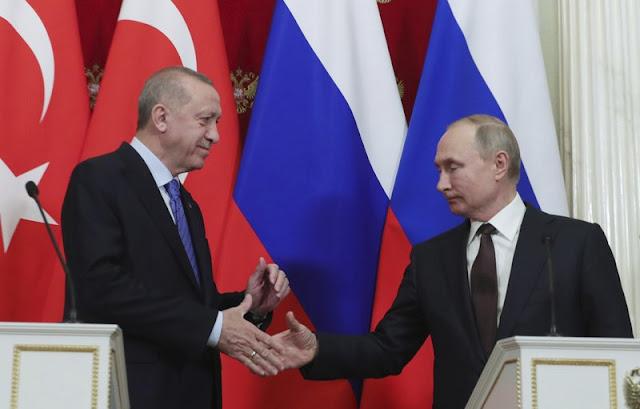 روسيا وتركيا تعلن وقف إطلاق النار في شمال غرب سوريا