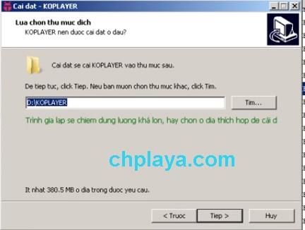 Hướng dẫn cài đặt giả lập KOPlayer trên máy tính 4