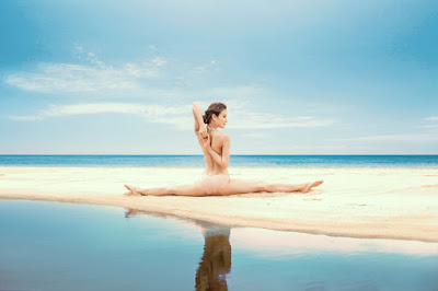 Những động tác tập yoga khó Phương Trinh cũng đã tập được