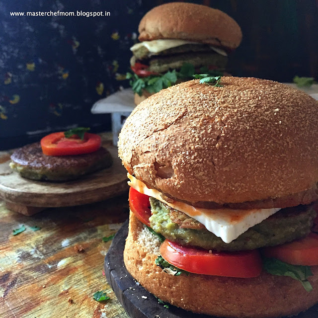 Pesarattu Burger