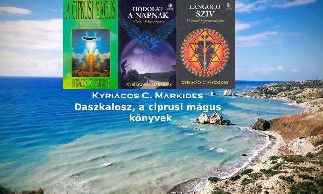 Daszkalosz, a ciprusi mágus könyvek K.C. Markidestől