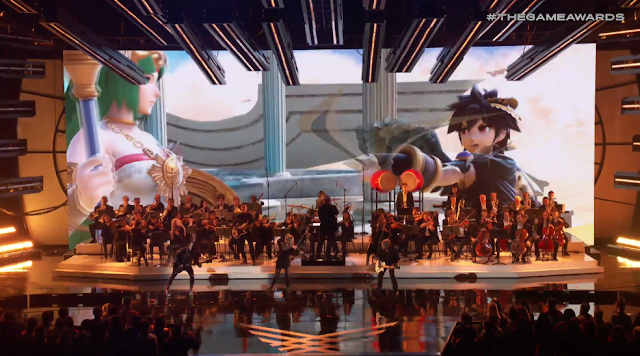 The Game Awards Super Smash Bros. Ultimate theme orchestra 2018 Palutena Dark Pit