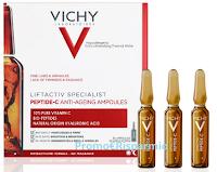 Logo Diventa tester Vichy Liftactiv Specialist Peptide-C Ampolle anti età