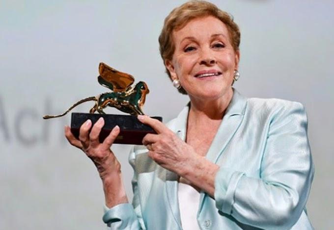 'Congratulations' Julie Andrews receives the Venice Lifetime Achievement Award