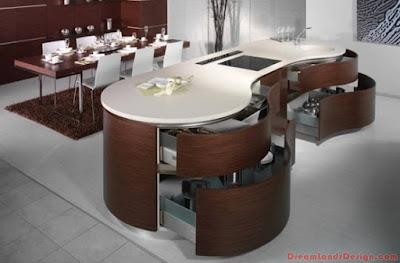 Modern Kitchen In Wooden Finish Ideas