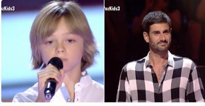 Diego: Hello |  Audiciones a ciegas La Voz Kids