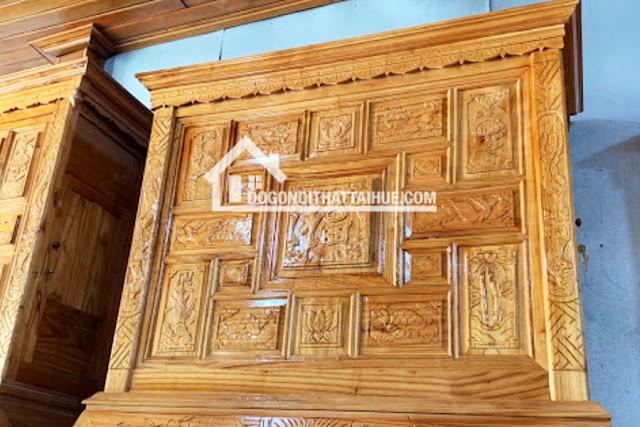 Tủ thờ gỗ xoan, Tu tho go xoan, Mua tu tho ta Hue, Tủ thờ ở Huế, Nội thất Huế, Noi that Hue