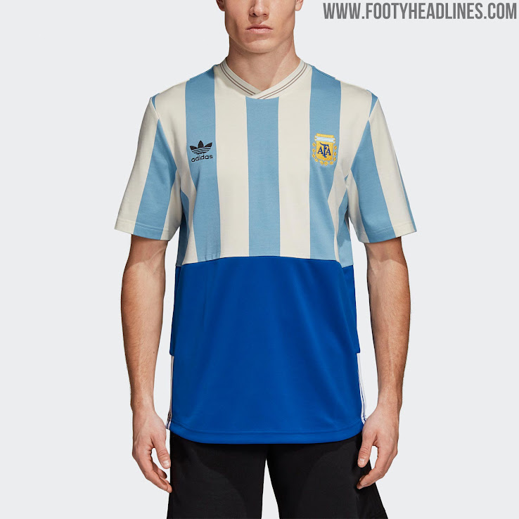 24a2a4f4201a0 Adidas Argentina, Colombia, Germany & Russia 2018 World Cup Mash-Up Jerseys  Released
