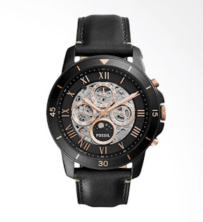 Fossil ME3138 Black And Gold