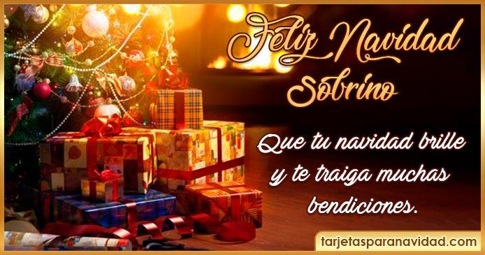 feliz navidad  Sobrino