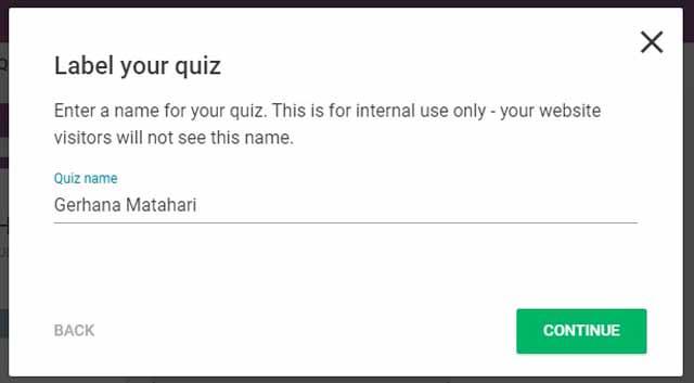 Belajar Membuat Soal / Quiz Online