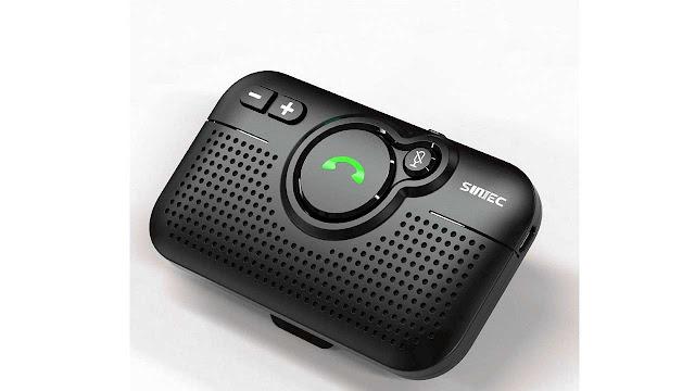 SUNITEC Handsfree Bluetooth Car Speaker