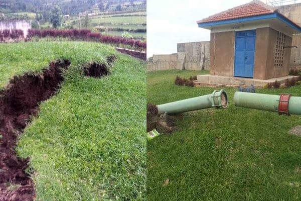 Enorme Grieta Crece En Uganda ( Africa )