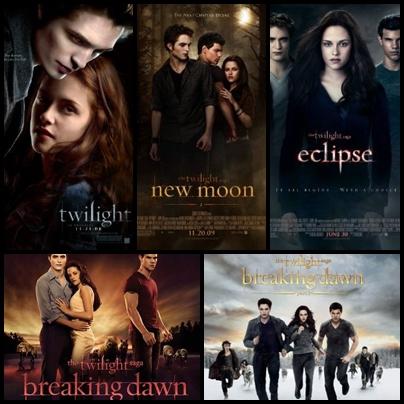 سلسلة افلام الشفق Twilight
