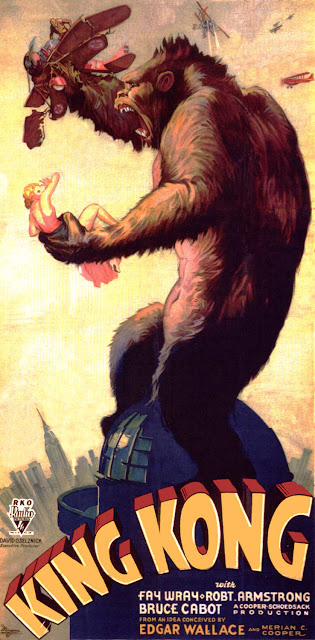 Póster película King Kong - 1933