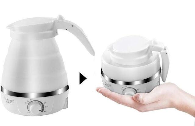 foldable kettle for camping