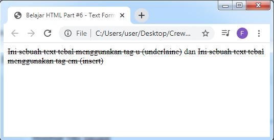 Crewnesia - Text Formatting