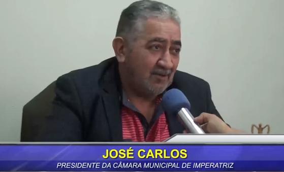 """José Carlos """"Pé de Pato"""" disse que não existe a menor possibilidade dele ser vice de alguém!!!"""