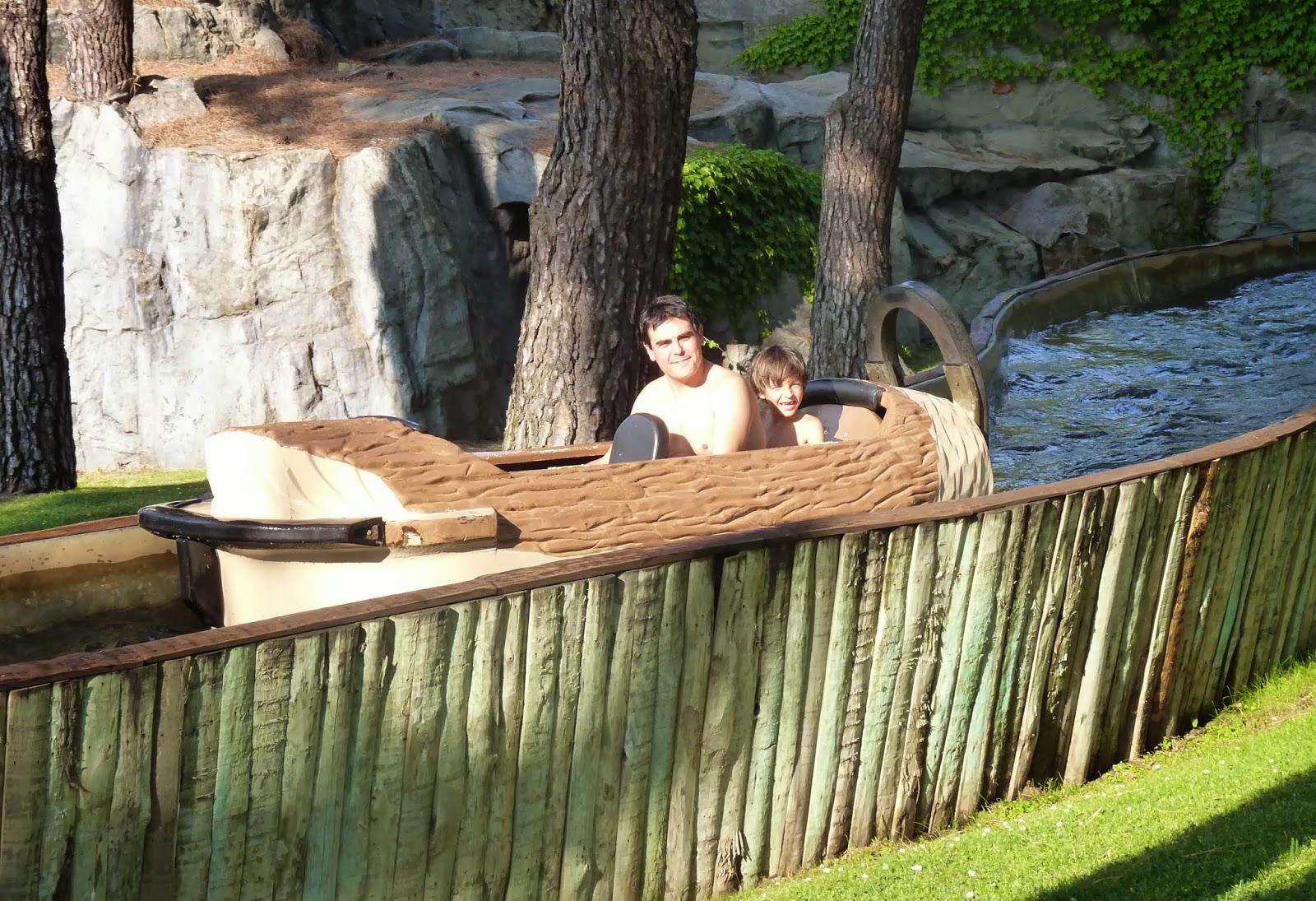 El Aserradero-Parque de Atracciones de Madrid.