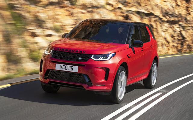 Land Rover Discovery được định vị là dòng xe gia đình