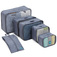 6 Set Packing Cubes/Travel Cubes