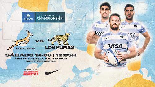 Formación de Los Pumas ante Sudáfrica - Zurich Rugby Championship 2021
