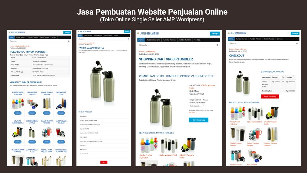 website penjualan online,website toko online,jasa pembuatan website penjualan online
