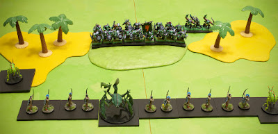 tupi and giant insects versus orcs