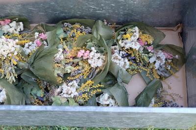 クラフトフェアまつもと2017 「kokageya」植物×古道具 花束