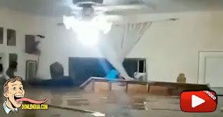 Así de inundada quedó su casa en Maracay pero esta vez quedó con electricidad