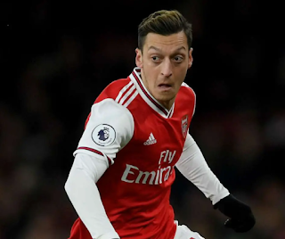 Ozil's latest shirt number revealed as the arsenal exit core seals