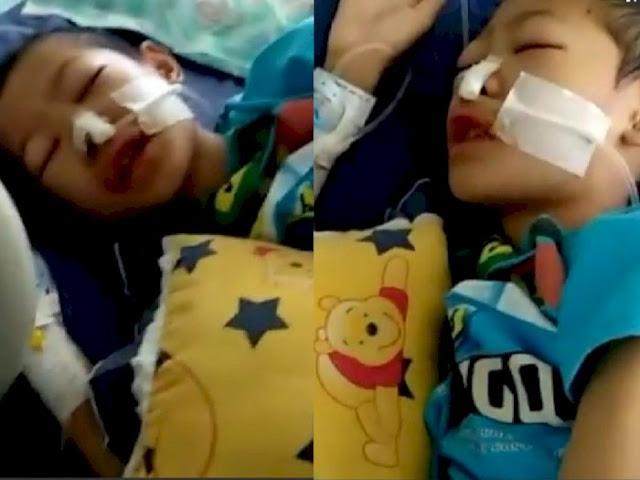 Bocah Ini Terus Lantunkan Ayat-ayat Al Quran Meski Tak Sadarkan Diri Akibat Sakit