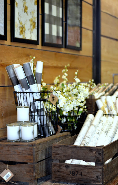 Joanna Gaines, Magnolia Market, Heirloom Rose, wallpaper, DIY