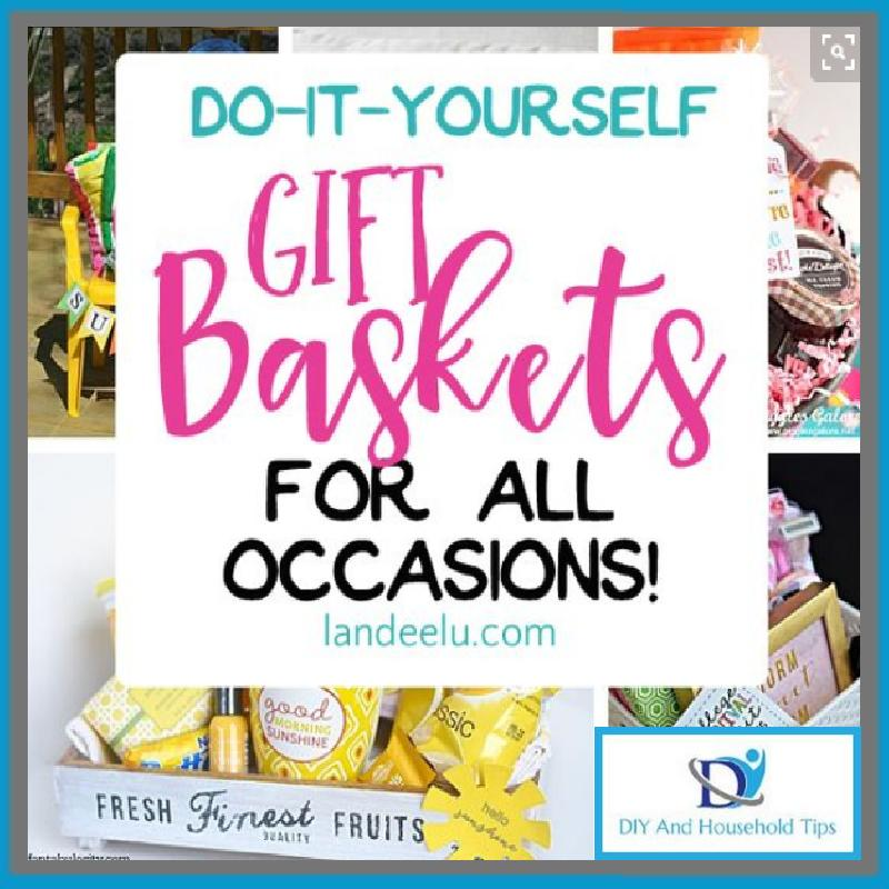 Make Yourself Gift Basket Ideas: DIY And Household Tips: Do It Yourself Gift Basket Ideas