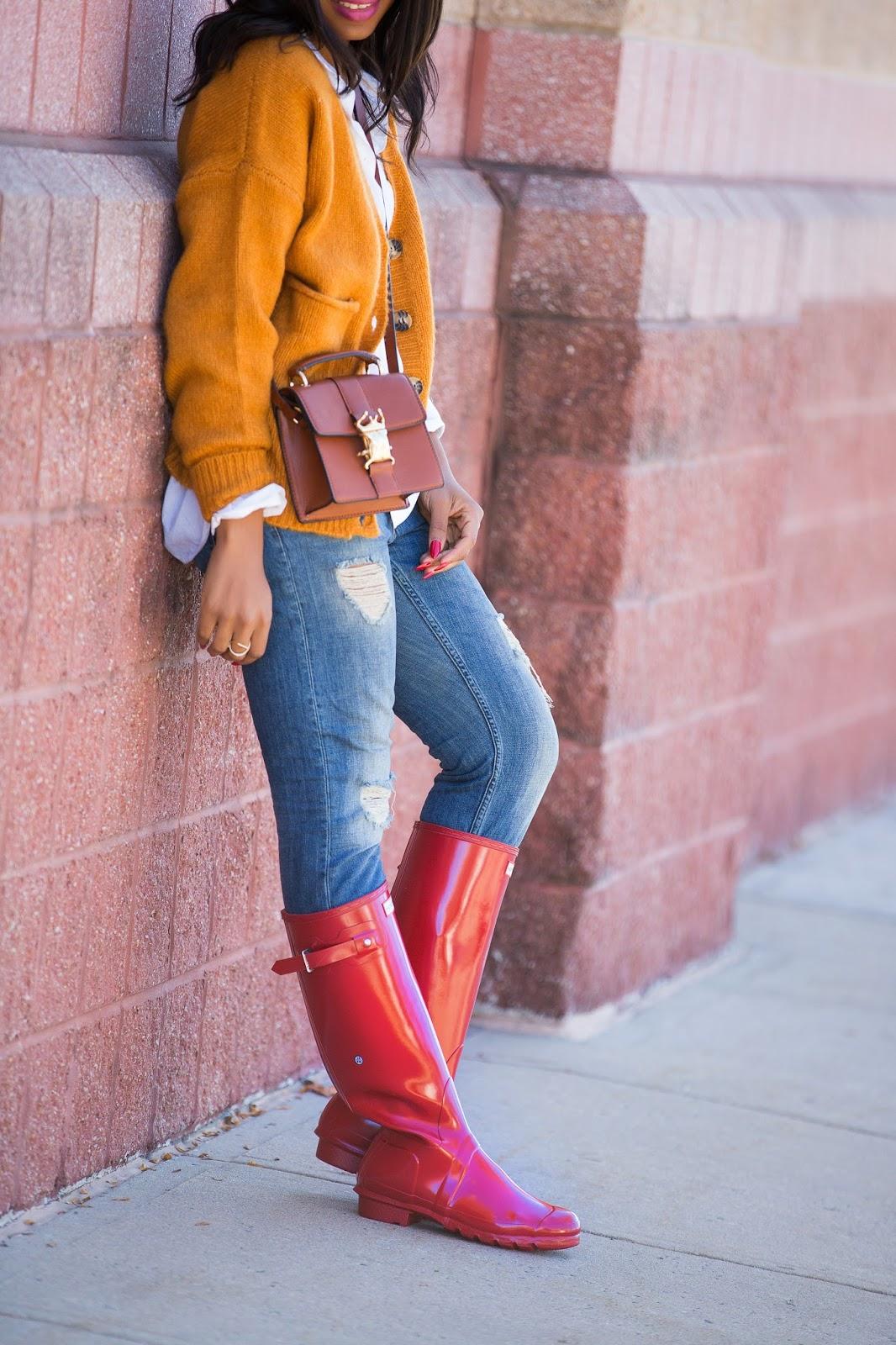Hunter boots, www.jadore-fashion.com