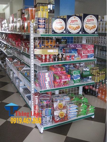 Giá kệ bày hàng tạp hóa giá rẻ tại Hà Nội