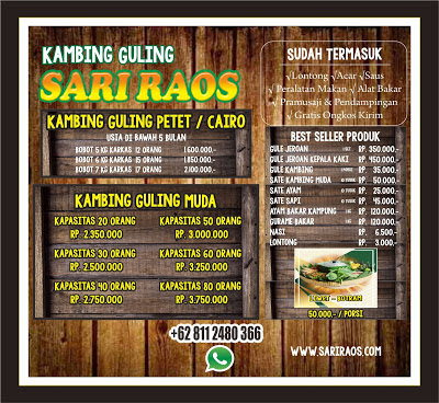 Harga Terbaru Kambing Guling Sari Raos Bandung,  Kambing Guling Bandung, Kambing Guling Sari Raos Bandung, Kambing Guling,