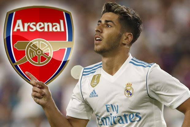Arsenal Start £34M Transfer Talks With Real Madrid Over Marco Asensio