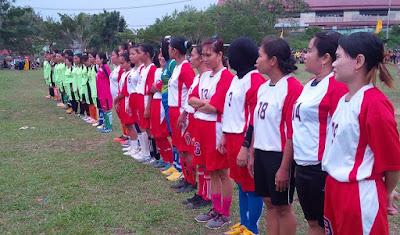 Golkar Sekadau Gelar Turnamen  Sepak Bola Wanita