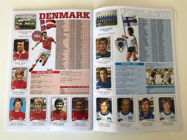 Figurine Danimarca Euro 76
